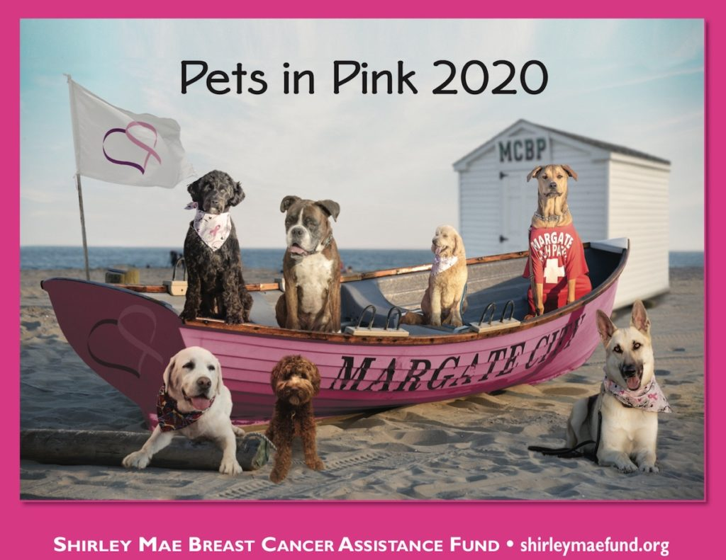 Shirley Mae Fund - Pets in Pink 2020 Calendar